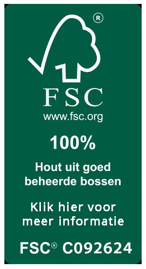 FSC keurmerk - Hout uit goed beheerde bossen