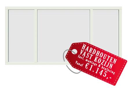 hardhouten kozijnen prijs vanaf 1145 euro